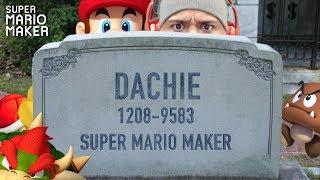 R.I.P. MARIO & DASHIE!! [SUPER MARIO MAKER] [#93]