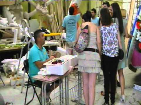 ENRRIQUE  BURRIEL  CARROZAS 2011   FALLA   EL    RABAL   FM CATARROJA