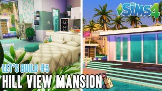 Die Sims 4 HILL VIEW MANSION | Let's Build #5 - Poolhaus Deluxe