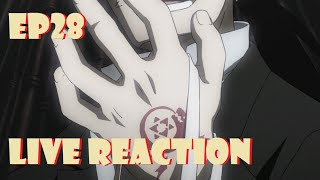 Fullmetal Alchemist: Brotherhood Live Reaction Episode 28 - Greed's Return!