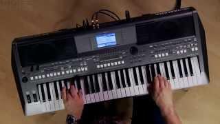 Kraft Music - Yamaha PSR-S670 Arranger Demo with Blake Angelos