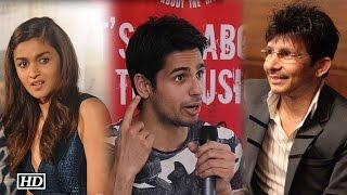 KRK Trolls Alia Bhatt; Sidharth Lashes Out In Anger