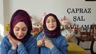ÇAPRAZ ŞAL BAĞLAMA │ Sohbet │ Hijab Tutorial