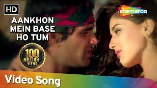 Aankhon Mein Base Ho Tum (Duet) - Sunil Shetty - Sonali Bendre - Takkar - Bollywood Songs - Abhijeet
