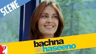 Scene - Ussi train main ek romantic ladki | Bachna Ae Haseeno | Ranbir Kapoor | Minissha Lamba