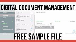 FREE Digital Document Management Sample File | FileMaker Pro 16 Videos | FileMaker Pro 16 Training