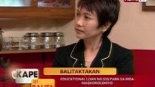KB: Educational loan ng SSS para sa mga magkokolehiyo