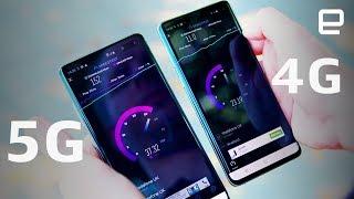 Samsung Galaxy S10 5G vs. Galaxy S10