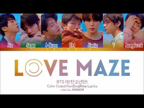 Xxx Mp4 BTS 방탄소년단 LOVE MAZE Color Coded Lyrics Eng Rom Han 3gp Sex