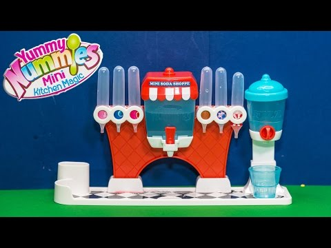 ASSISTANT Soda Shop Maker How to Make Yummy Candy Soda Toys