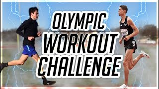 Doing an Olympic Runner's Workout (CENTROWITZ RUNNING CHALLENGE)