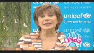 Ivonne Frayssinet se suma a Buena Onda - UNICEF