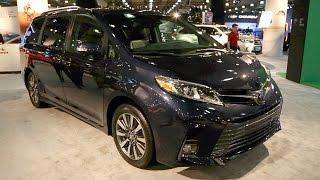 2018 Toyota Sienna - 2017 New York Auto Show