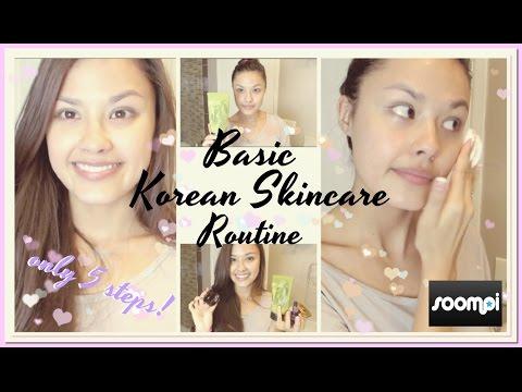 Korean Skincare 101: Basic 5 Step Korean Skincare Routine