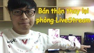 Phòng LiveStream Mới của Pino giờ Như Nàoo ?!