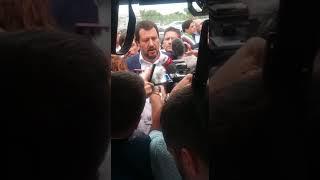 Salvini in visita alla Geotrans, ditta confiscata alla mafia 2