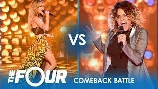 Stephanie Zelaya vs Whitney Reign: HOT Latin Fire Faces R&B Sass!   S2E7   The Four