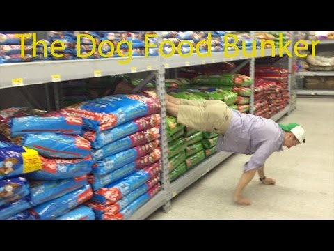 Toilet Paper Fort - Dog Food Edition (Real Life Minecraft)