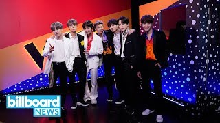 BTS Leaves Lasting Impression With 'Boy With Luv' Performance on 'The Voice' Finale | Billboard News