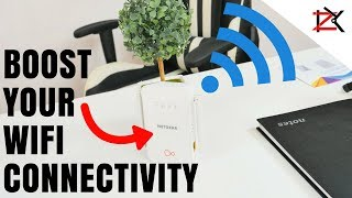 How To Boost Your Wifi Signals | Netgear Powerline Wifi 1000 | Easy Setup