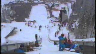 1984 Winter Olympics - 70 Meter Ski Jump - Part 1