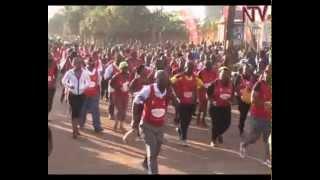 Thousands turn up for Kabaka birthday run