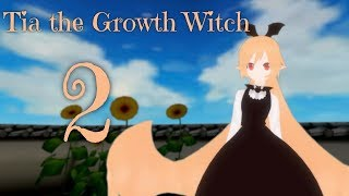 [MMD] Sizebox Giantess Growth - Tia the Growth Witch - Part 2