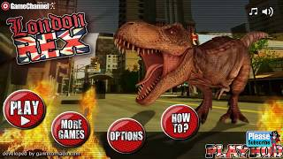 London T-Rex Game / Dinasour Simulation / Android Gameplay Video