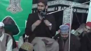 Student of Dr. Tahir ul Qadri sahib M. Raza Qadri sahib ISHQ E MUSTAFA COFERANCE in natkalan.3gp