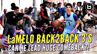 Down 30 At The Half Again, Can LaMelo Ball Lead Comeback?!