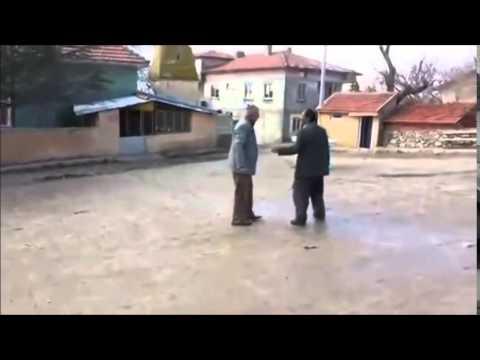 yaşlı dayıların küfürlü kavgası