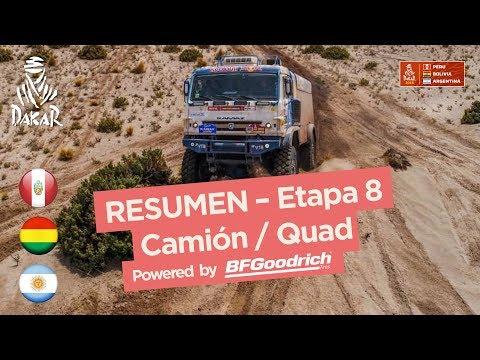 Xxx Mp4 Resumen Camiones Cuadriciclos SxS Etapa 8 Uyuni Tupiza Dakar 2018 3gp Sex