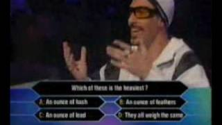 Ali-G...Game Who Wants to Win an Ounce