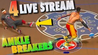 FINALLY A SUPERSTAR / 4 LIVE STREAM Ankle Breakers - NBA 2K17 MyPark