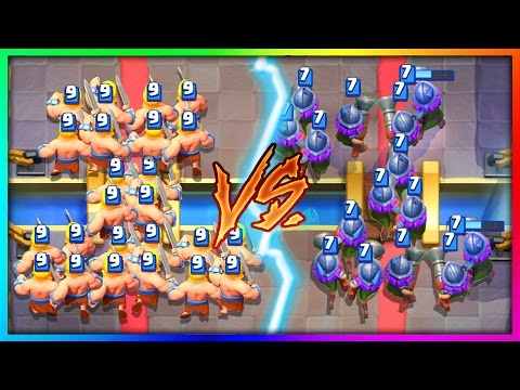 GIRLS vs BOYS!   WHICH TROOP IS BETTER in Clash Royale!?