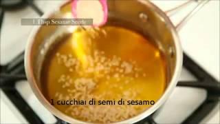 poolaki/Persian saffron and sesame candy(Zafferano persiano e caramelle sesamo)