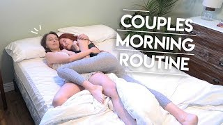 Couples Morning Routine || Lesbian Couple