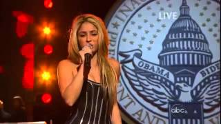Shakira  Bright Side Of The Road Live white house