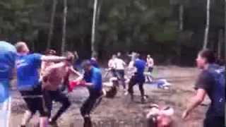 Russian Mass fight.. CSKA VS Spartak !