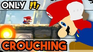 Is it Possible to Beat the Star World in New Super Mario Bros. U While Permanently Crouching?