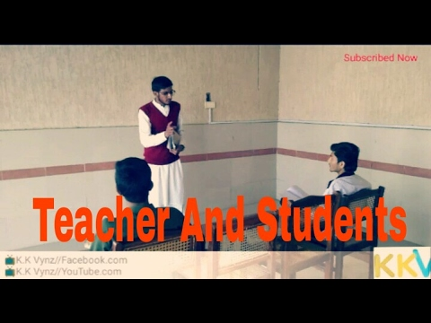 Teacher and Students...