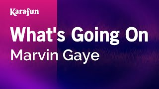 Karaoke What's Going On - Marvin Gaye *