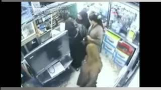 شاهد أخطر عملية سرقة les voleuses au maroc