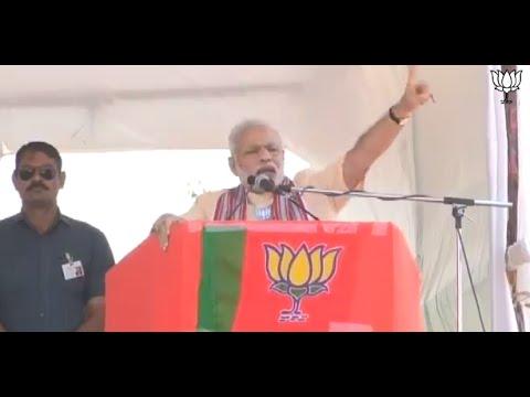 Shri Narendra Modi addresses rally in Tasgaon (Sangli), Maharashtra: 05.10.2014