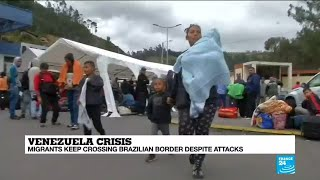 Venezuelans continue to flee to neighbouring countries despite difficulties to cross border