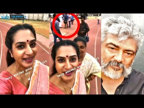 Xxx Mp4 Viswasam Actress About Ajith In Viswasam Latest Shooting Spot Video 3gp Sex