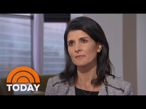 UN Ambassador Nikki Haley Revised Travel Ban Is 'Not A Muslim Ban' Exclusive TODAY