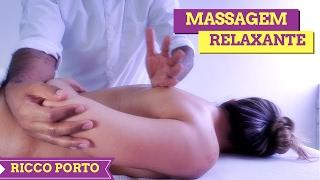 🔴 Como fazer Massagem Relaxante para Dores nas Costas - Videoaula