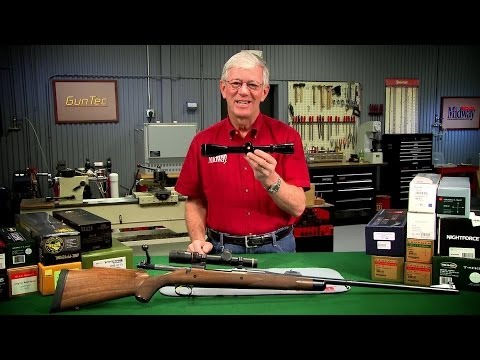 Gunsmithing How to Choose A Rifle Scope Presented by Larry Potterfield of MidwayUSA