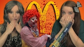 Ronald McDonald Playground Slaughter | Girls REACT | 34